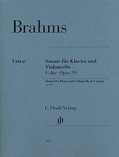 Brahms: Cello Sonata in F Major, Op. 99
