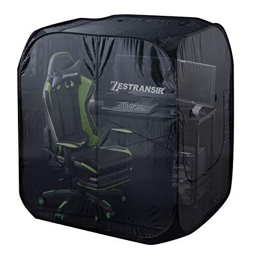 ぼん家具 ZESTRANSIR ゼストランサー ゲーミングテント デスク用テント 室内 ゲーム テント本体のみ