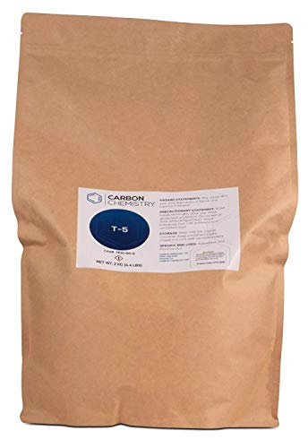 Carbon Chemistry 2000 Gram T-5 Neutral Activated Bentonite Clay