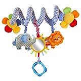 Aroland Baby Pram Toys Spiral Activity Hanging Toys Stroller Toy Car Seat Bed