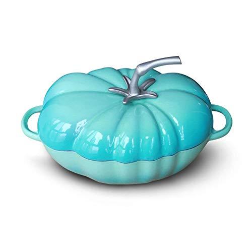 Potten, pannen, gietijzeren pot tomaat laboratorium vaak gooi een pot bodem anti-aanbak pot ijzeren pot,Wit Groen Tomaat +