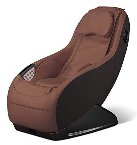 GURU® Sillón de masaje y relax - Marrón (modelo 2020) - 3 modos masaje - Sonido envolvente shiatsu 2D - Sillon masajeador con sistema Bluetooth y USB - Garantía oficial 2 Años