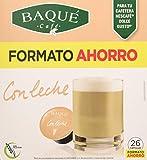 Cafés Baqué 26 Capsulas Compatibles Dolce Gusto Con Leche 226 g
