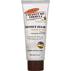 Coconut sugar facial scrub gently exfoliates and purifies with natural raw coconut sugar. Instantly refreshes with ultra-hydrating. Free of parabens, phthalates, mineral oil, gluten, sulfates, or dyes.