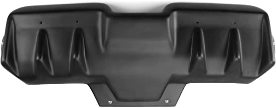Rear Bumper Lip Diffuser Compatible With 2015-2019 Subaru WRX STI | PP Polypropylene Matte Black Valences Spats Apron Splitter Diffuser Canard by IKON MOTORSPORTS | 2016 2017 2018