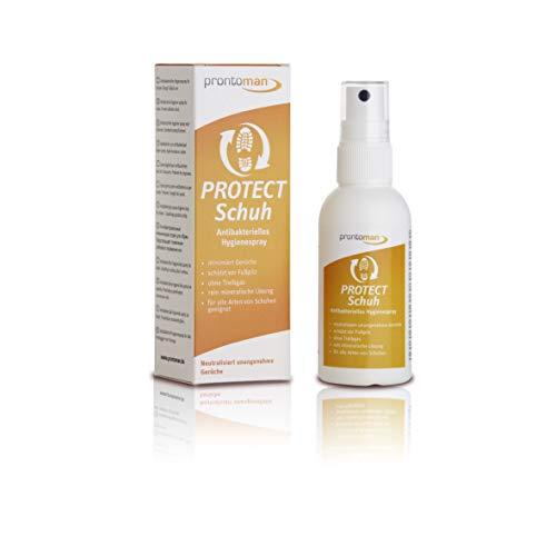 Prontoman PROTECT Schuh 75ml - antibakt. Hygienespray minimiert Schuhgerüche