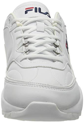 FILA Overtake men zapatilla Hombre, blanco (White), 43 EU