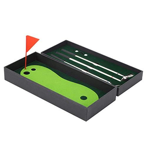 Juego de bolígrafos de golf, juguete de escritorio resistente al desgaste, regalo elegante verde para regalo de decoración de escritorio de cumpleaños