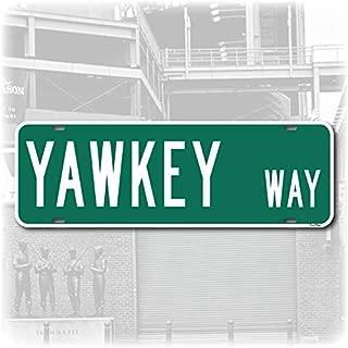 yawkey way street sign