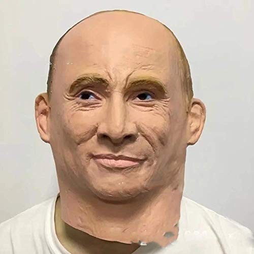 XIN Russische president Vladimir Poetin Latex Masker Volledig Gezicht Halloween Rubber Maskers Masquerade Party Volwassen Cosplay Fancy Kostuum Props