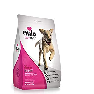 Nulo Freestyle Dry Puppy Food – Grain Free Kibble Recipe with DHA for Brain Development, Available for Large Breed Puppies