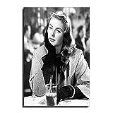 FINDEMO Ingrid Bergman Poster, dekoratives Gemälde,