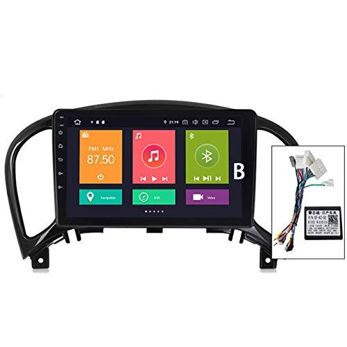 ADMLZQQ Android10.0 Radio de Coche Audio estéreo Pantalla táctil HD para Nissan Juke 2010-2014 con Control de Volante navegación GPS Integrado Carplay+DSP(M300/PX6)
