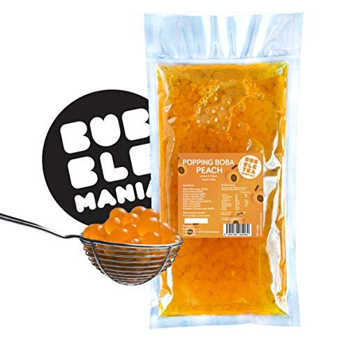 Popping boba sferetta alla frutta per Bubble Tea Pesca (500 g)
