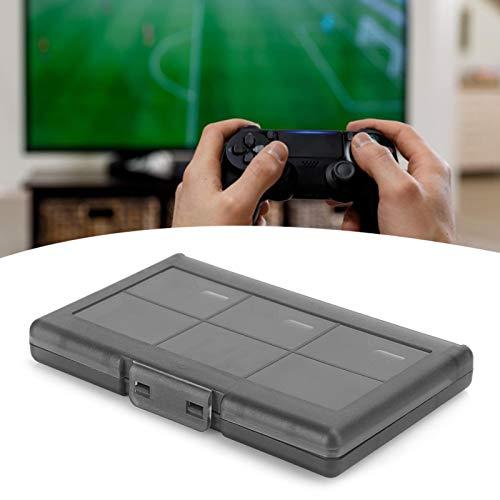 Emoshayoga Caja de Almacenamiento Protectora rígida 12 en 1 para NintendoSwitch(Black)