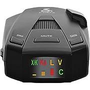 Cobra RAD 250 Laser Radar Detector: Long Range, False Alert Filter, Voice Alert & OLED Display