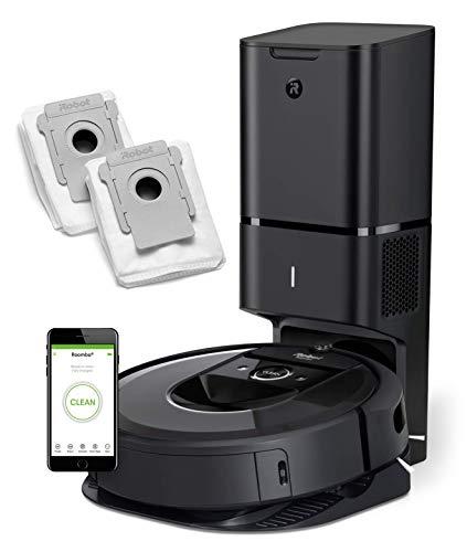 iRobot Roomba i7+ (7550) Robot Vacuum Bundle with Automatic Dirt...