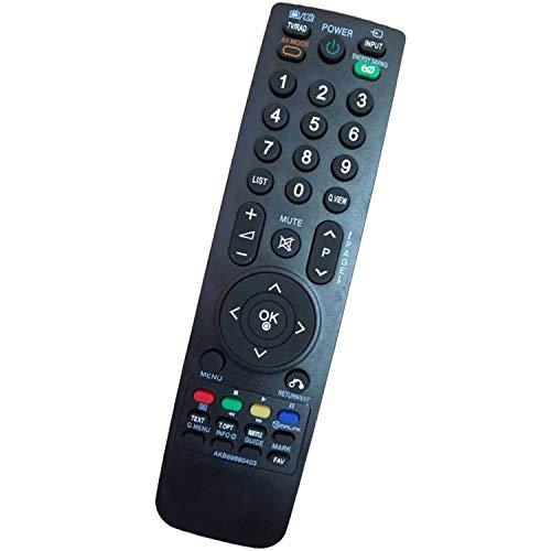 Mando a Distancia de Repuesto LG AKB69680403 para LG LCD LED Smart TV - No se Requiere configuración Control Remoto