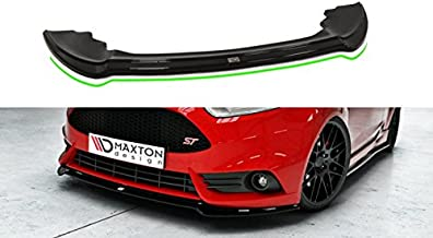 Maxton Design Front Splitter Ver.3 Compatible with Fiesta MK7 ST Facelift 2013-2017