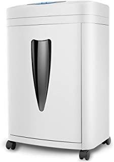 ACQUIRE Minute Heavy-Duty Micro-Cut Paper Shredder, High-Security with Destroying CD/Credit Cards, 8-Sheet Shredding Capacity
