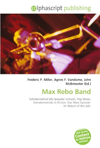 Max Rebo Band: Extraterrestrial Life (popular culture), Pop Music, Extraterrestrials in Fiction, Star Wars Episode VI: Return of the Jedi.