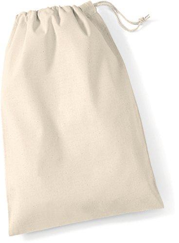 Cotton Stuff Bag | Stoffsack aus Baumwolle Farbe natur Größe S