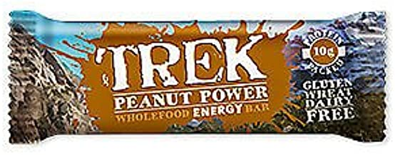 Trek Bars Peanut Power 13 x 55g UK Estimated Price : £ 25,66