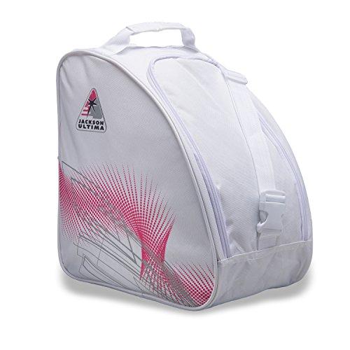 Jackson Schlittschuh-Tasche, Übergroße, weiß/rosa