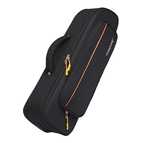Homyl Premium Gig Bag/Tasche für Trompete, Schwarz, Oxford Tuch Trompete Rucksack mit Schultergurt und Tragegurt, Wasserdicht