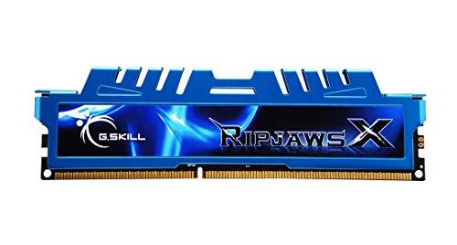 G.Skill Ripjaws-X - Kit de memoria RAM de 8 GB (2 x 4 GB, DD