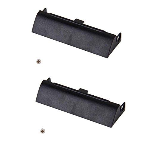 B Blesiya Hoja de Cubierta del Caddy HDD del Disco Duro de Plástico 2pcs para DELL Latitude E6420