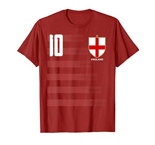England English Football Soccer Jersey Shirt Tee