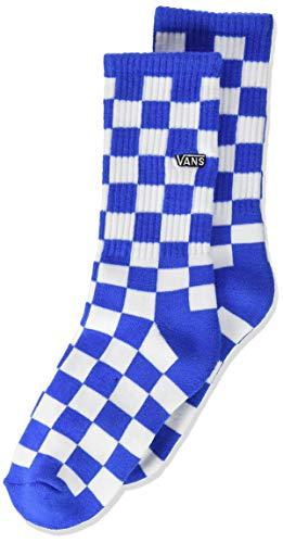 Vans Checkerboard Crew Boys (1-6, 1PK) Calcetines, VICTORIA BLUE, Talla única Unisex niños