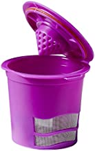 Brew Your Way Single Coffee Reusable Filter, Small, Purple