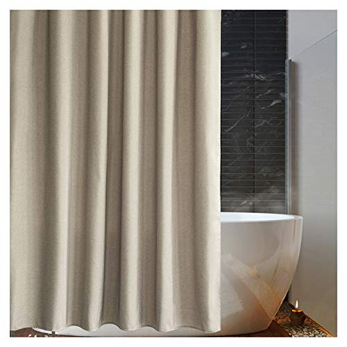 Douchegordijn Mold Proof Resistant Washable Strong Shading bad Gordijnen for douchecabine en badkamer van hoge kwaliteit Polyester (Color : A, Size : 180X200cm)