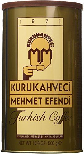 Kurukahveci Mehmet Efendi Turkish Coffee 3 Pack (3 X 500gr)