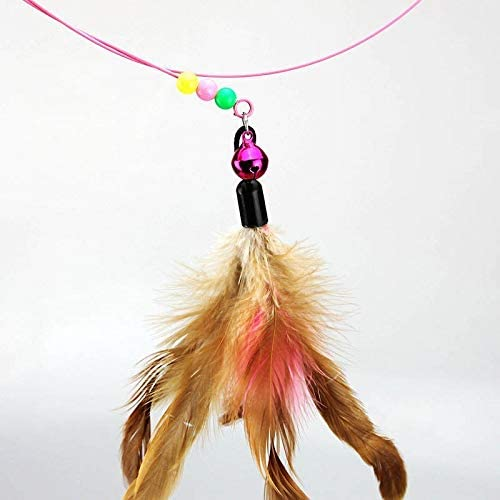 Interative cat Teaser Feather Toy