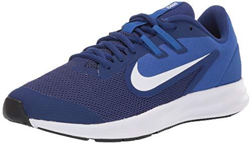 Nike Downshifter 9 (GS), Zapatillas de Running para Asfalto Unisex Niños, Multicolor (Deep Royal Blue/White/Game Royal/Black 400), 40 EU