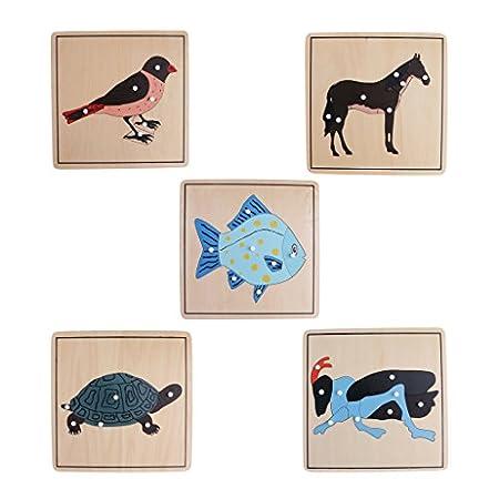 KESOTO 5X Montessori Puzzle