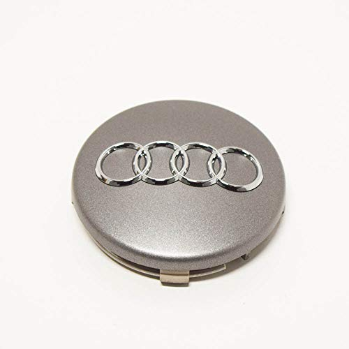 AUDI Genuine Wheel Center Hub Cap Grey Metallic Q3 RS4 RS6 1994-2017