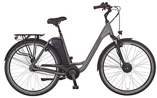 "Prophete Damen GENIESSER e9.5 City E-Bike 28\"" Elektrofahrrad grau matt RH 49 cm"