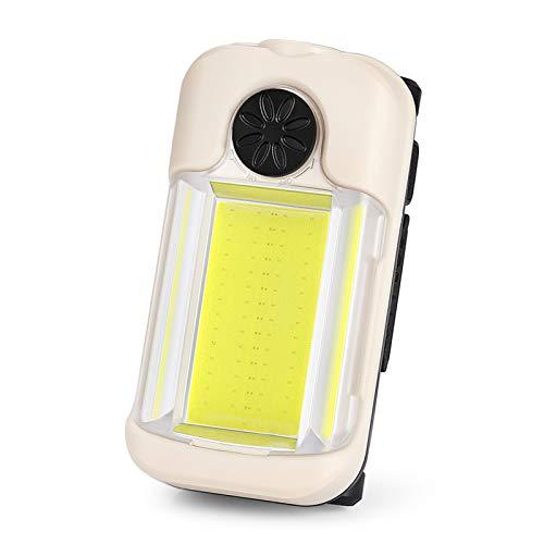 Luz de Trabajo LED Recargable 15W Luz de Inundación Portátil Linterna de trabajo LED COB Linterna trabajo lámpara de inspección Linterna de Cámping para Emergencia, Pesca, Cortes de Energía y Más