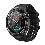 JHHXW Smart Watch, 1,3 Pollici Schermo, Tracker Fitness, Sport Contapassi Bracciale, Bluetooth Chiamata/Musica/Fotografia, manopola di Selezione, IP67 Impermeabile, Push Messaggio, Promemoria Inte