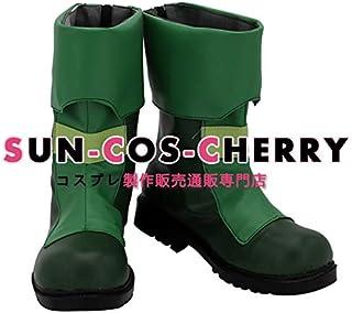 【サイズ選択可】コスプレ靴 ブーツ K-2834 メイドインアビス MADE IN ABYSS プルシュカ 女性23.5CM