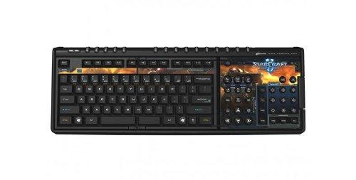 SteelSeries Zboard Gaming Keyboard-Starcraft II Edition