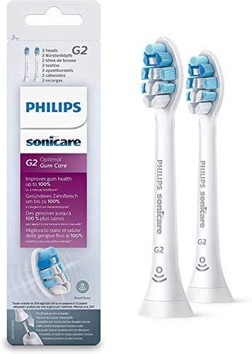 Philips HX9032/10 - Pack con 2 cabezales para cuidado de las encías para cepillos Sonicare