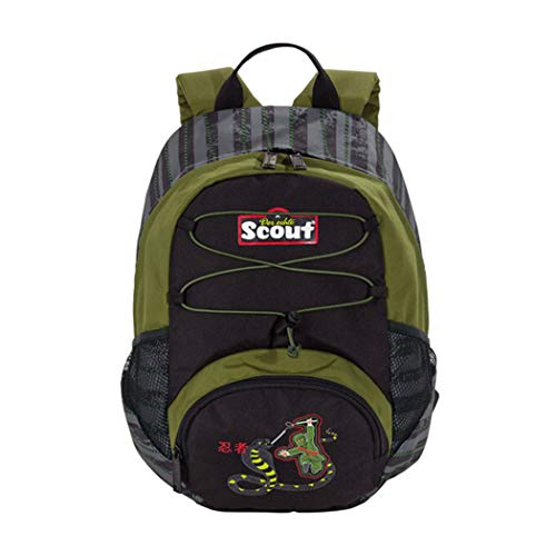 Scout 25330132500 Kinder-Rucksack, 41 cm, Schwarz