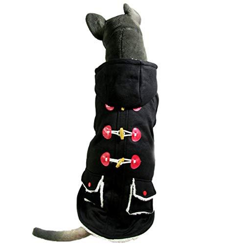 Dobbi Mode Frühjahr Herbst Haustier Hunde Coole LatzhoseOutwear Schöne Pant Komfortabel Weich Jumpsuit Kapuzenpullover Niedlich Kleid Bekleidung...