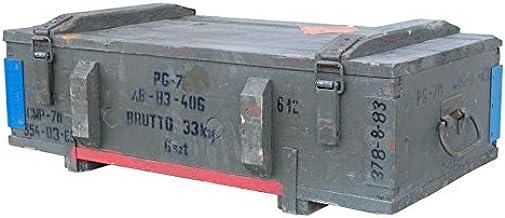Vintage Möbel 24 GmbH - Baúl grande de munición tipo PG-7 de ...