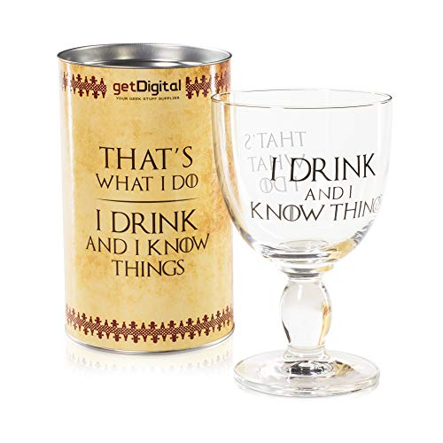 getDigital -   I Drink and I Know